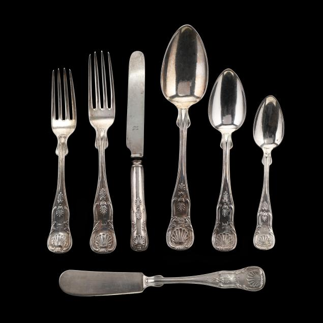 partial-set-of-philadelphia-coin-silver-flatware