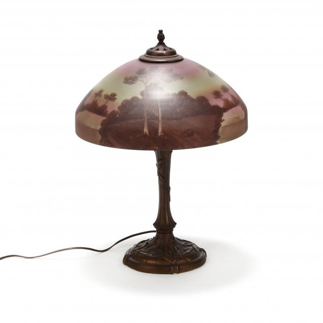 att-pittsburg-reverse-painted-landscape-table-lamp