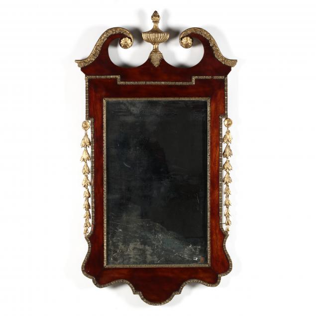 antique-georgian-style-mahogany-mirror