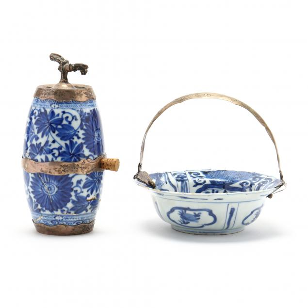 two-blue-white-chinese-ceramics-with-dutch-silver-mounts