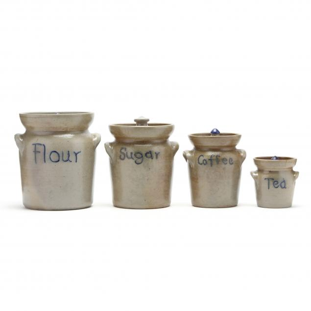 nc-pottery-rare-set-of-ben-owen-master-potter-canisters
