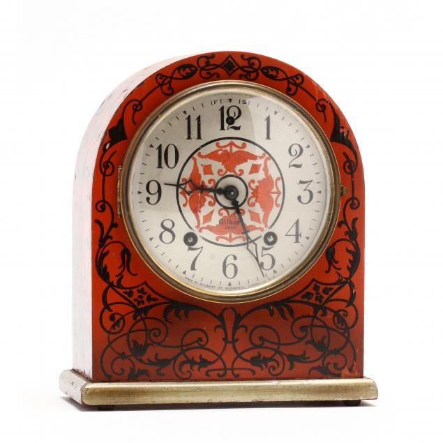 gilbert-vintage-lacquered-bracket-clock