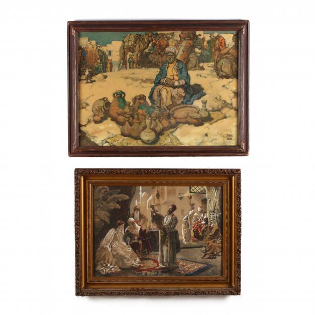 two-orientalist-prints