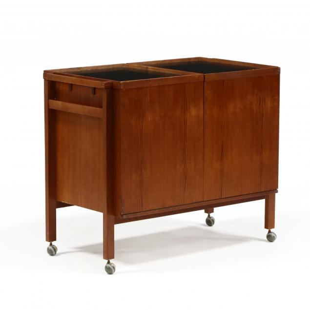 danish-modern-rosewood-bar-cart