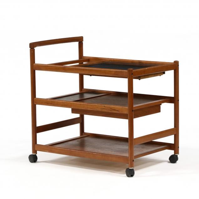 nissen-danish-modern-teak-bar-cart