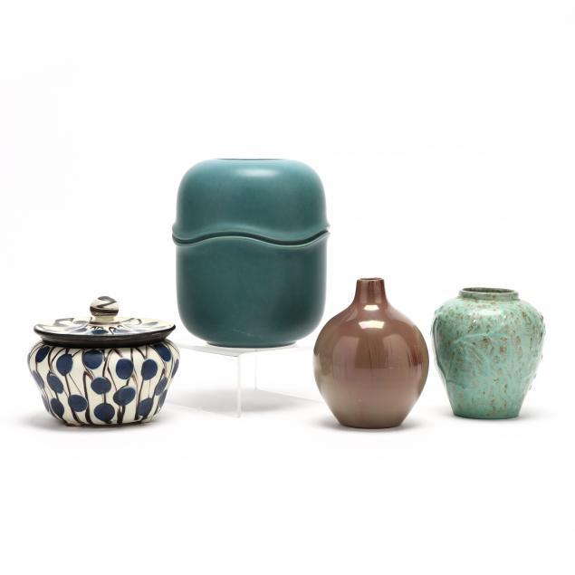 four-pieces-of-mid-century-modern-ceramics