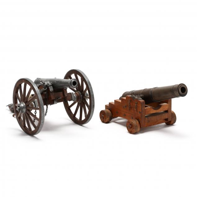 models-of-two-historical-cannons