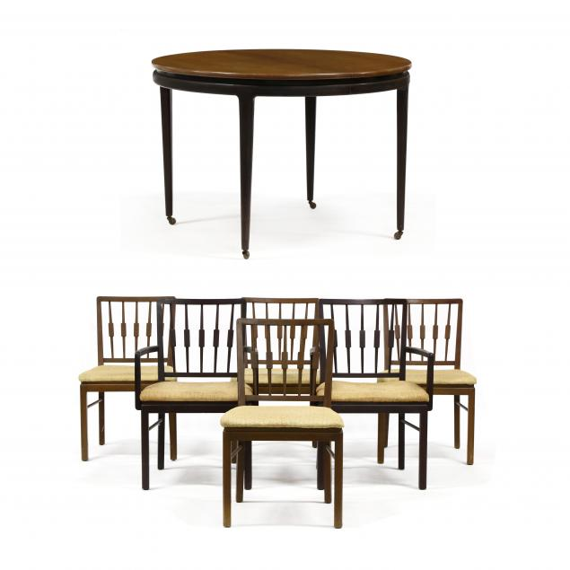 american-mid-century-cherry-dining-table-and-six-chairs