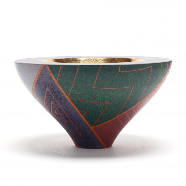 masuo-ojima-memphis-art-pottery-center-bowl