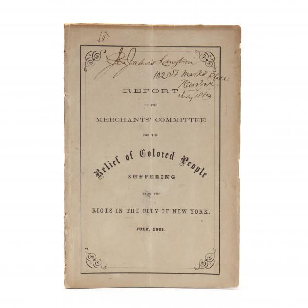 1863-booklet-published-in-the-new-york-draft-riot-s-immediate-aftermath