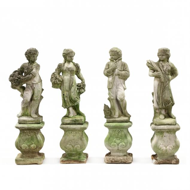 set-of-four-seasons-cast-stone-garden-sculptures