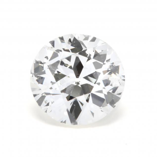 unmounted-old-european-cut-diamond-with-14kt-white-gold-mount