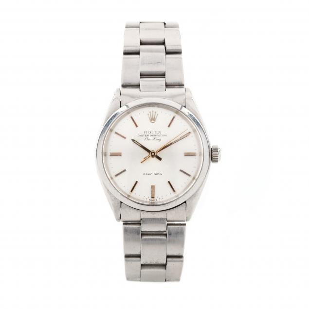 gent-s-stainless-oyster-perpetual-air-king-watch-rolex