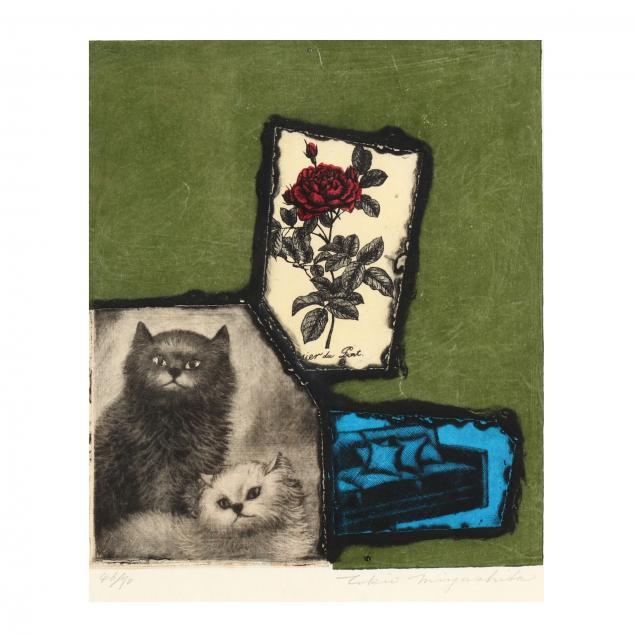 tokio-miyashita-japanese-1930-2011-i-cat-and-rose-i