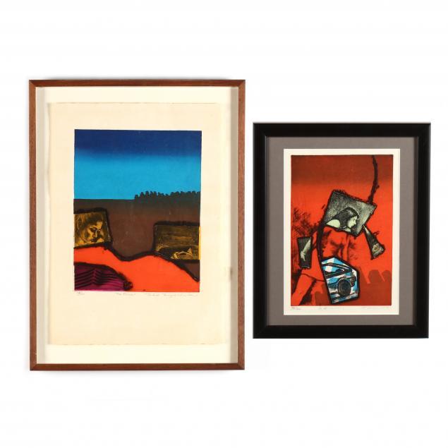 tokio-miyashita-japanese-1930-2011-two-woodblock-prints