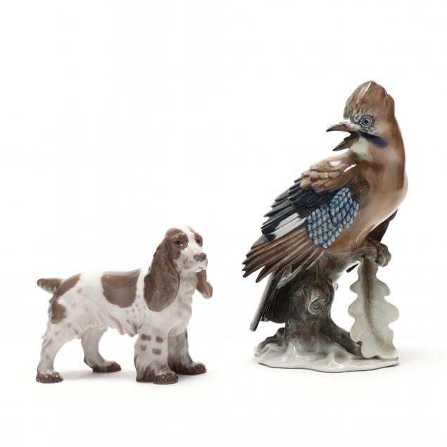 two-porcelain-animals