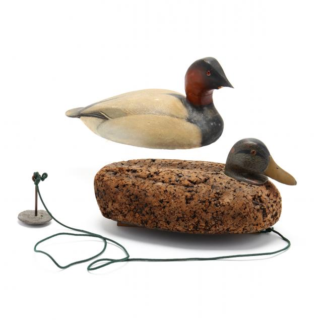 two-vintage-duck-decoys