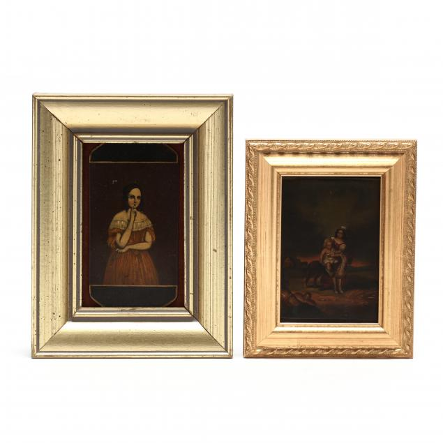 two-antique-miniature-paintings