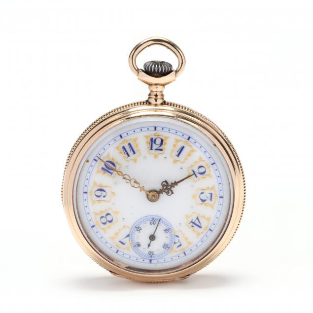 lady-s-antique-14kt-open-face-pocket-watch-longines
