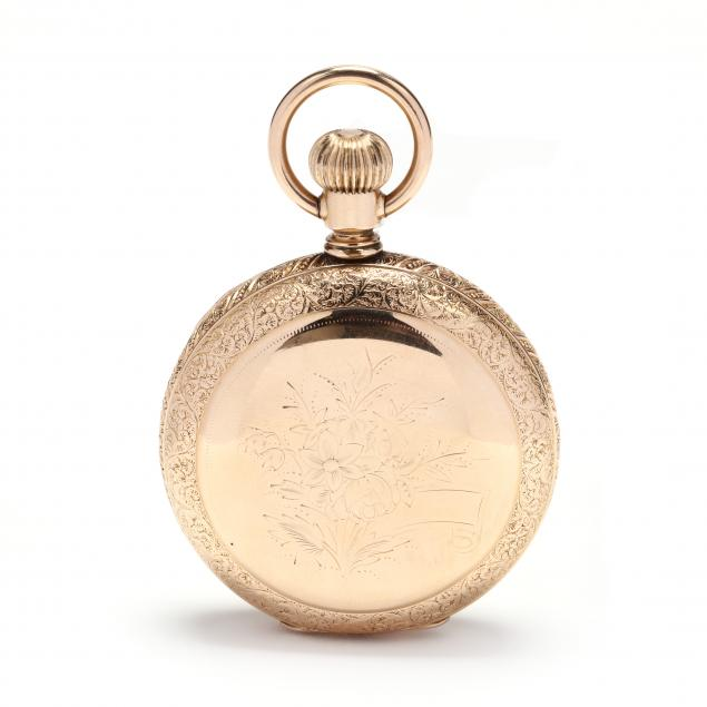 antique-gold-filled-hunter-case-pocket-watch-elgin