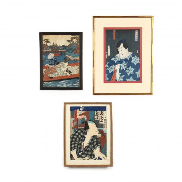 three-japanese-woodblock-prints