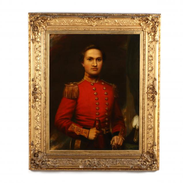 a-19th-century-portrait-of-an-english-officer