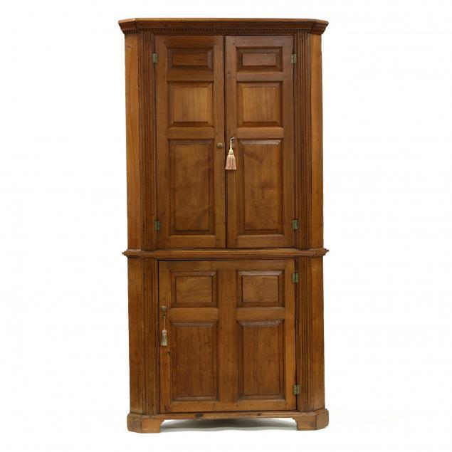 southern-chippendale-walnut-corner-cupboard