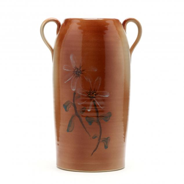 contemporary-nc-pottery-vase-signed