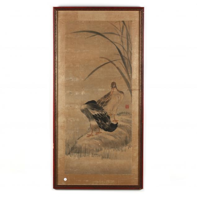 a-chinese-watercolor-painting-of-ducks