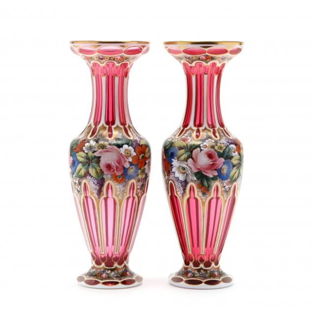 fine-pair-of-att-moser-enameled-glass-vases