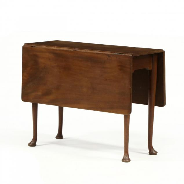 queen-anne-mahogany-drop-leaf-table