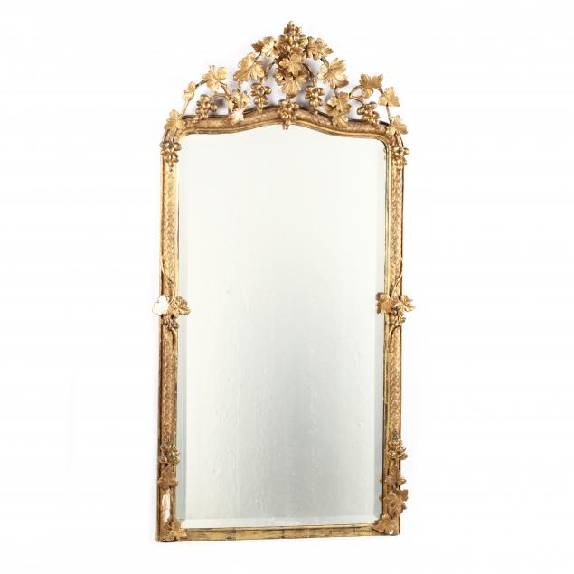 large-antique-italian-rococo-revival-carved-and-gilt-mirror