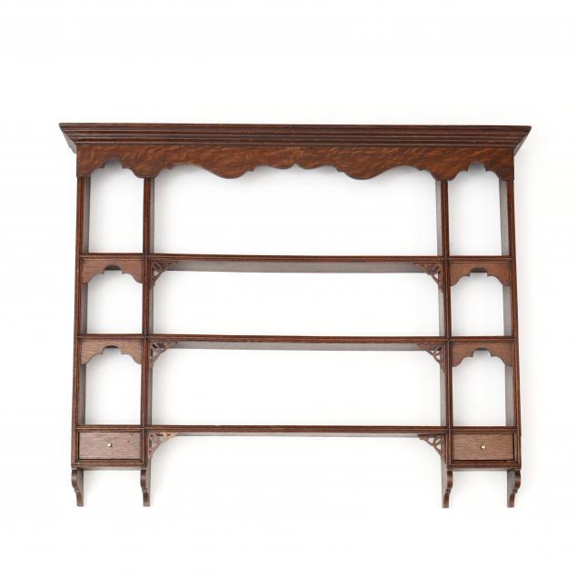 welsh-hanging-oak-shelf