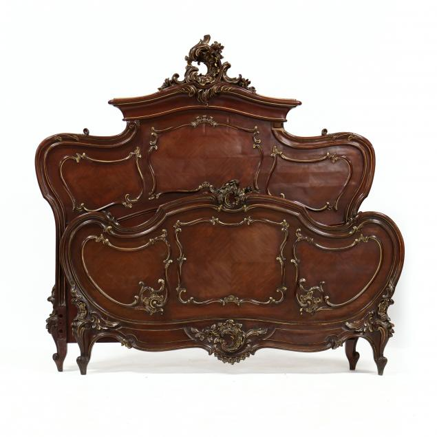 rococo-revival-carved-walnut-full-size-bed