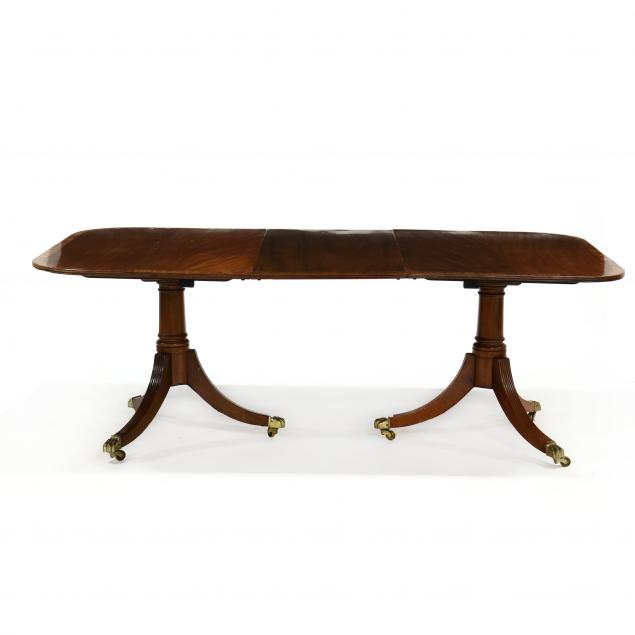 federal-style-mahogany-double-pedestal-dining-table