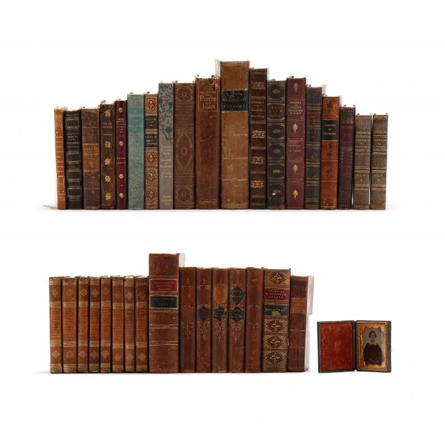 lot-of-35-antique-books-in-attractive-bindings-and-an-ambrotype