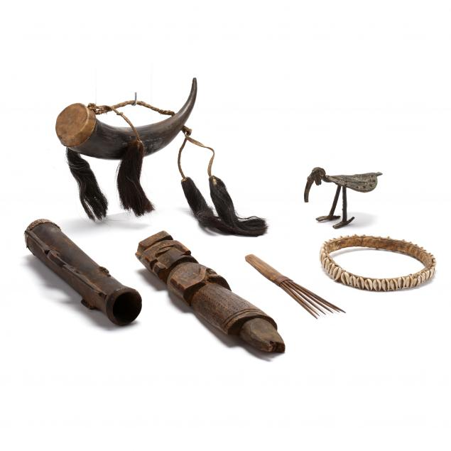 six-west-african-artifacts