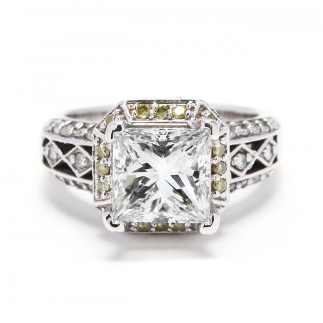 18kt-white-gold-and-diamond-ring-with-platinum-mount
