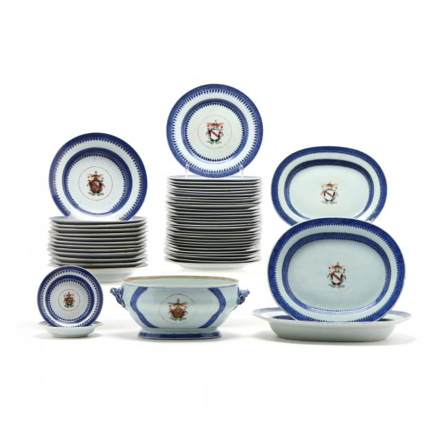 a-fifty-two-piece-chinese-export-armorial-porcelain-partial-set