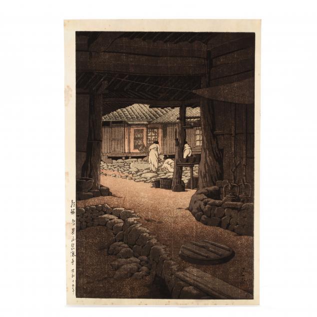 hasui-kawase-japanese-1883-1957-i-chii-mountain-senon-temple-korea-i