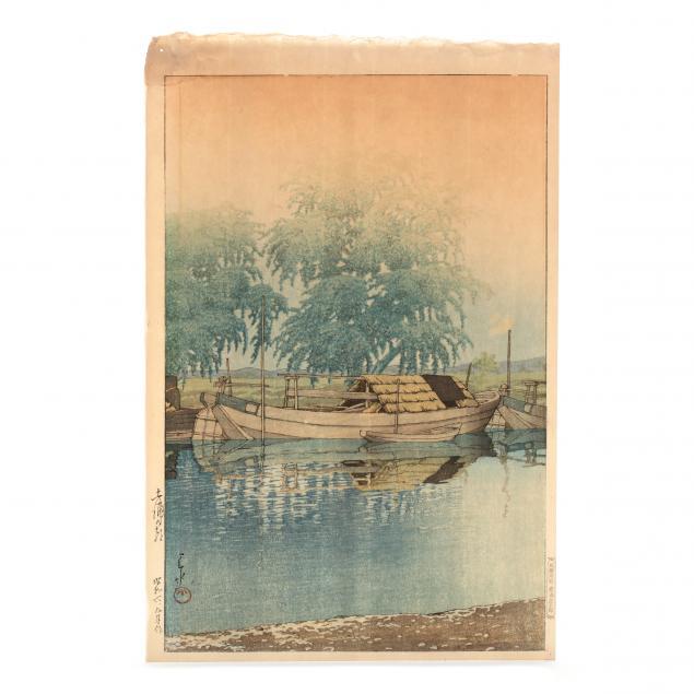 hasui-kawase-japanese-1883-1957-i-morning-at-tsuchiura-i
