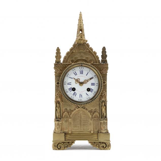 gilt-brass-steeple-form-bracket-clock-japy-freres