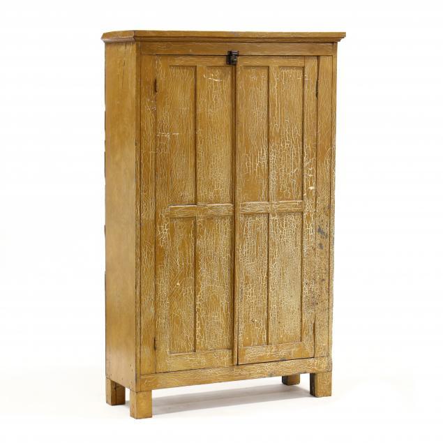 american-primitive-painted-pine-flat-wall-cupboard