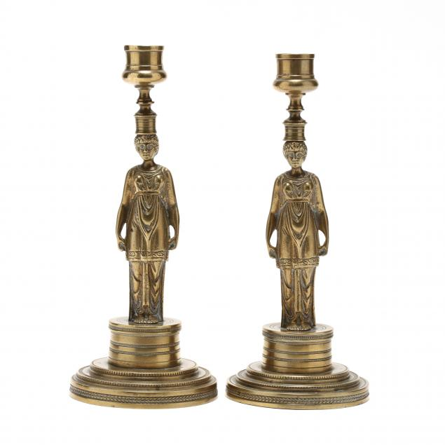 a-pair-of-french-empire-bronze-figural-candlesticks
