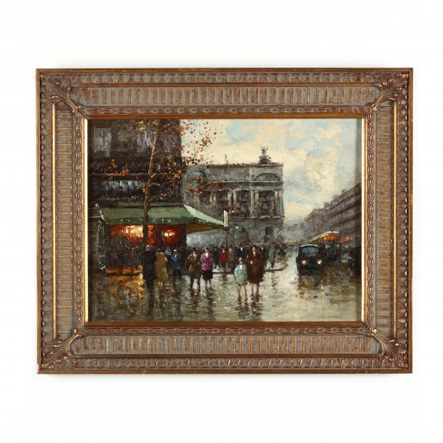 decorative-painting-of-a-parisian-street-scene