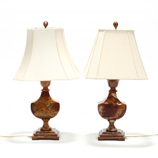 pair-of-solid-carved-agate-table-lamps