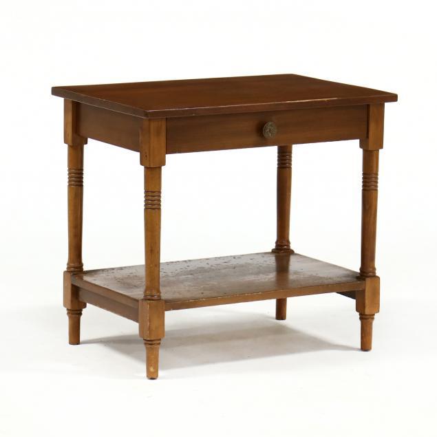 america-late-sheraton-one-drawer-stand