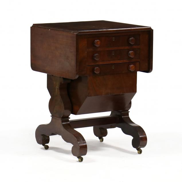 american-classical-mahogany-sewing-table