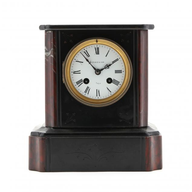 antique-french-slate-mantel-clock