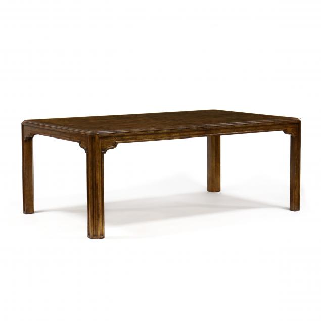 drexel-heritage-modern-oak-dining-table